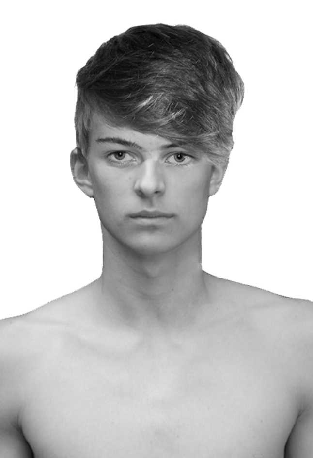 Portraitfoto frontal
