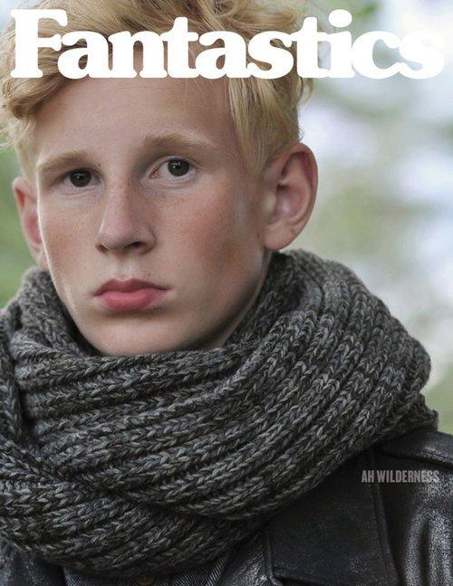 Eric @ DOPAMIN Modelagentur Düsseldorf, Fotograf Arno Ende, Cover Fantastics Magazine