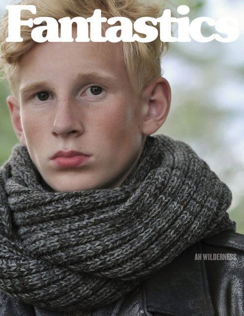 Eric @ DOPAMIN Model Agency Düsseldorf, Photographer Arno Ende, Cover Fantastics Magazine