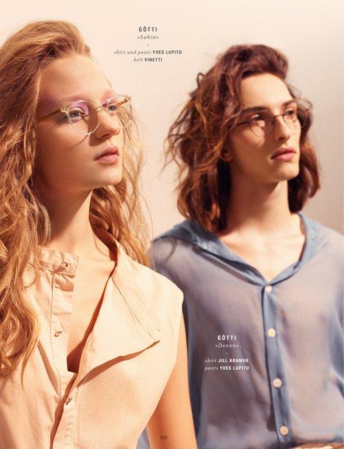 DOPAMIN Pascal Editorial Spectr International Eyewear Fashion Magazine, Fotograf: Stefan Kapfer Düsseldorf