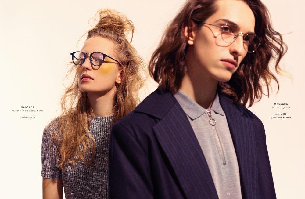 DOPAMIN Pascal Editorial Spectr International Eyewear Fashion Magazine, Photographer: Stefan Kapfer Düsseldorf