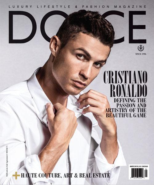 Dolce Vita Luxus-Magazin Cover Cristiano Ronaldo