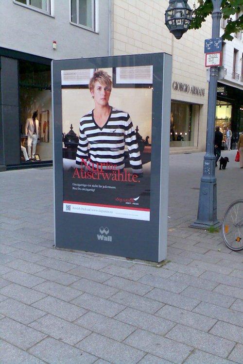 Dopamin Düsseldorf Königsallee CLP Campaign