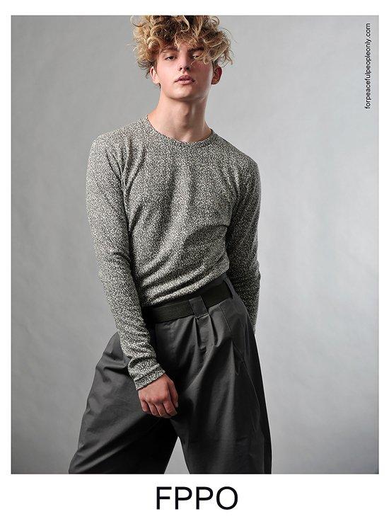 "Leander @ DOPAMIN Model Management Düsseldorf for ""FPPO for peaceful people only"" - Photographer: Arno Ende, Cologne"