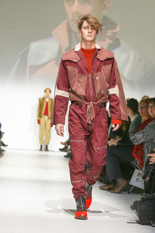 Yannick for AMD Hamburg runway show