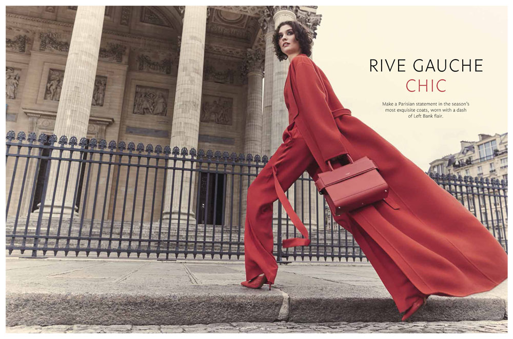 "Signature Luxury Travel & Style Australia Editorial ""Rive Gauche Chic"" by Bela Raba München"
