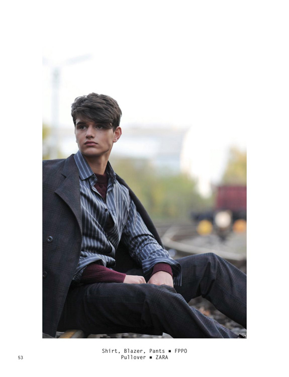 Fabio @ Dopamin Modelling Agency Düsseldorf, Superior International Magazine Berlin, Photographer: Arno Ende Cologne