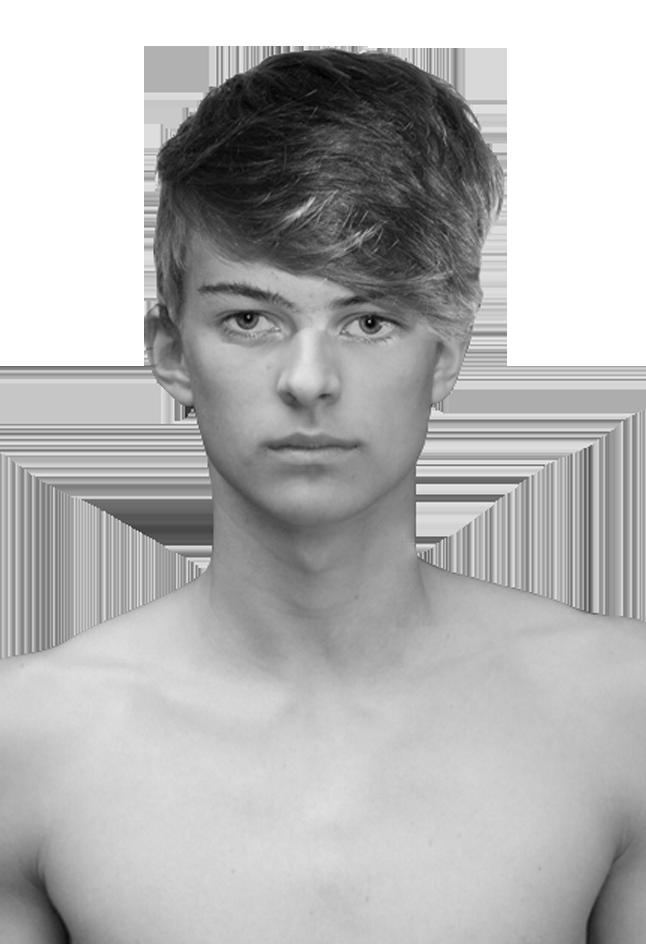 front facing head shot / Portraitfoto frontal