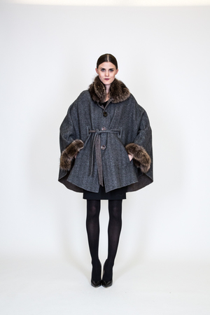 Short Length Cashmere CoatBelle Fare | Women's Fur Fashion ...