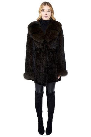 Women's Fur Coats — Belle Fare | Women's Fur Fashion Designer