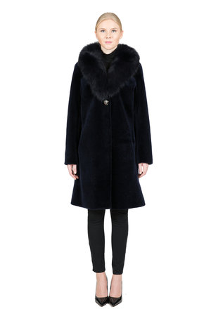 Women's Fur CoatsBelle Fare   Women's Fur Fashion DesignerSheep ...