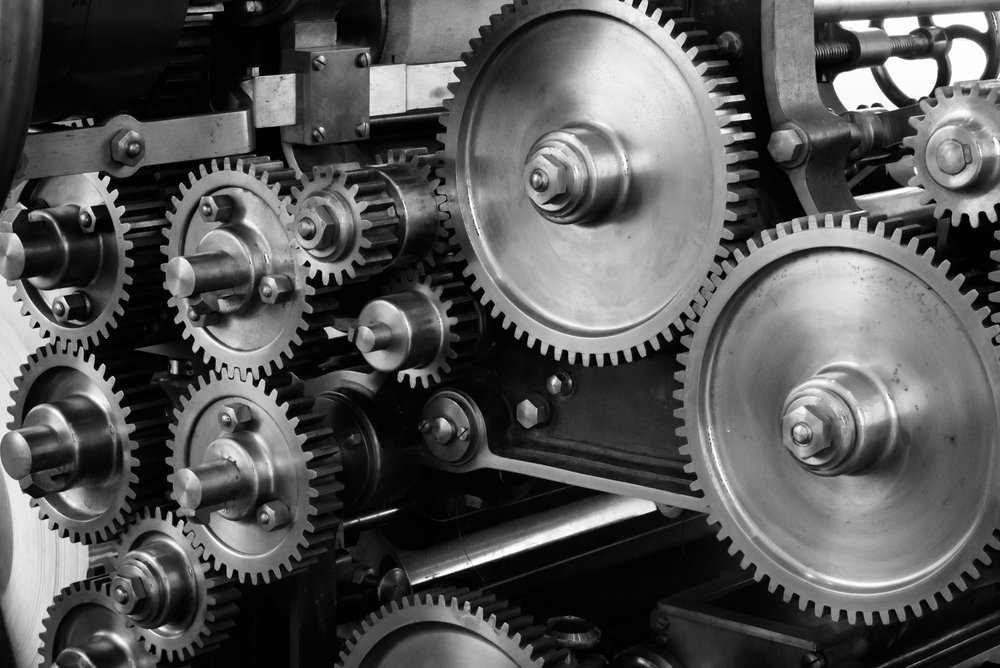 Gear image for manufacturing website.
