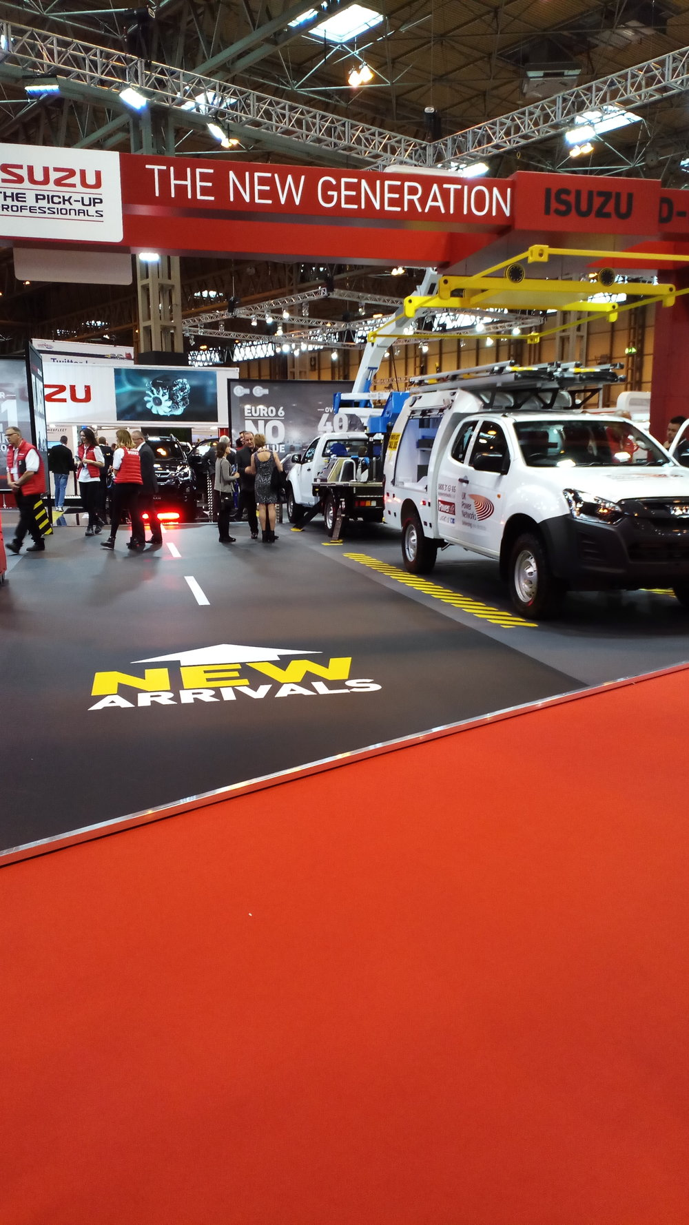 Image of Isuzu Stand - Commercial Vehicle Show 2017