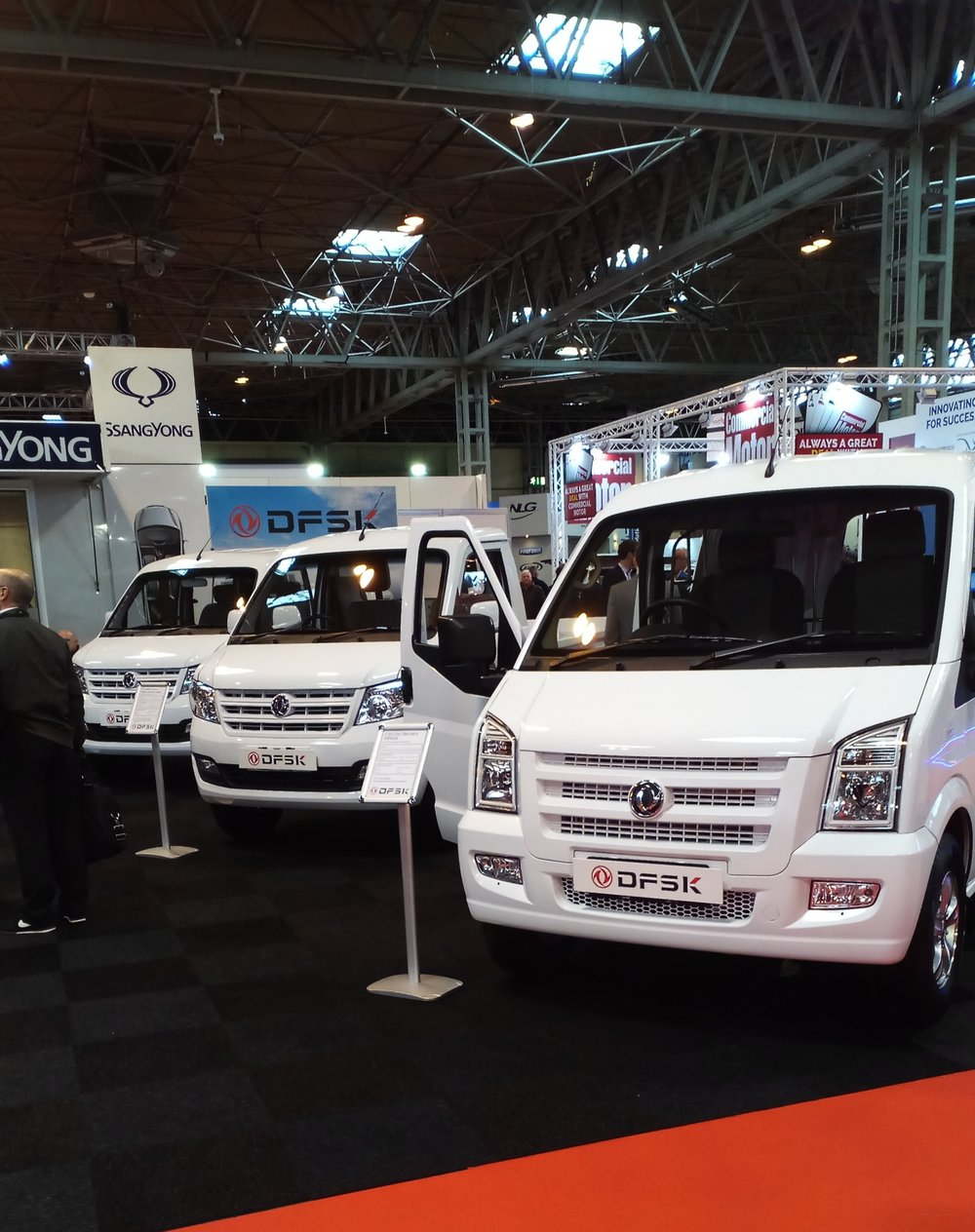 Image of DFSK - Commercial Vehicle Show 2017