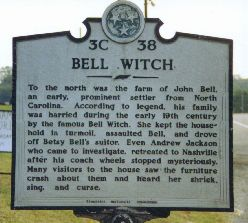 Bell Witch Historical Sign- The Peachy Pixel
