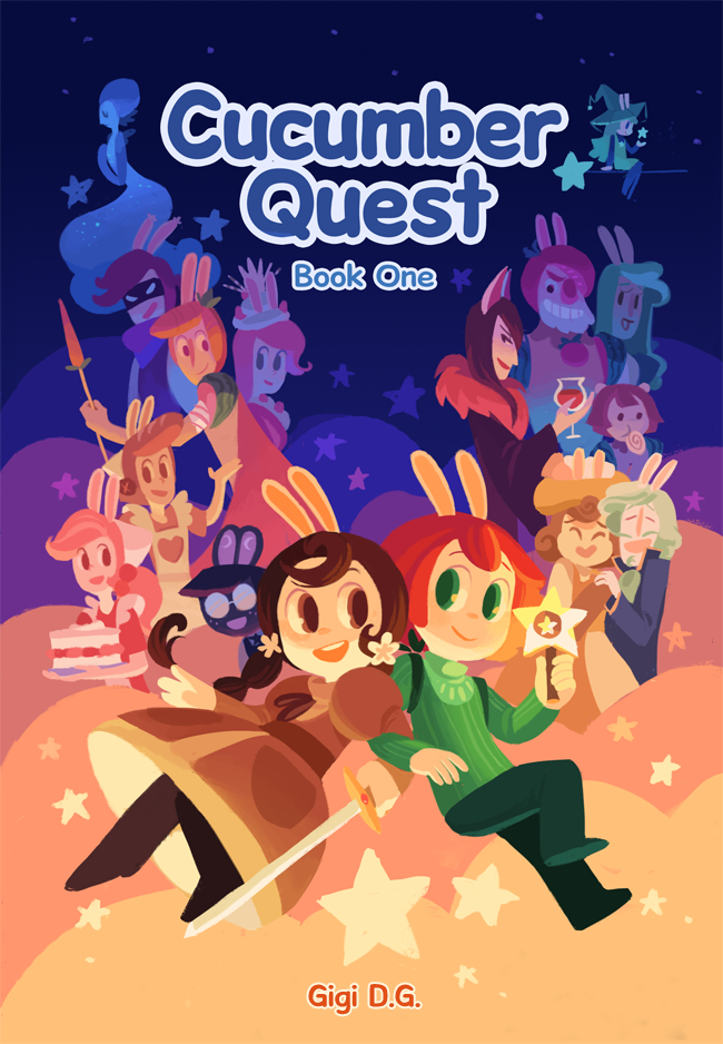 Cucumber Quest - The Peachy Pixel