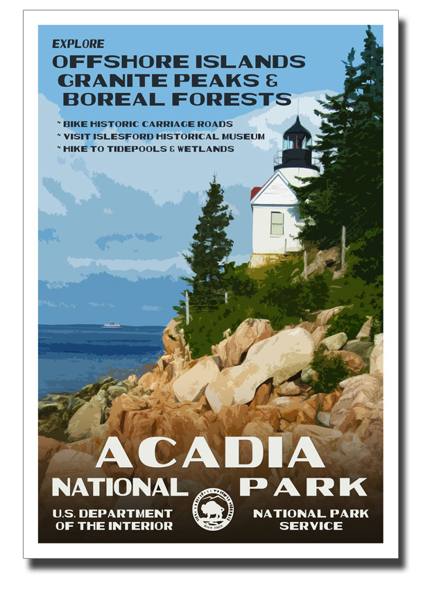 National Parks Posters - The Peachy Pixel