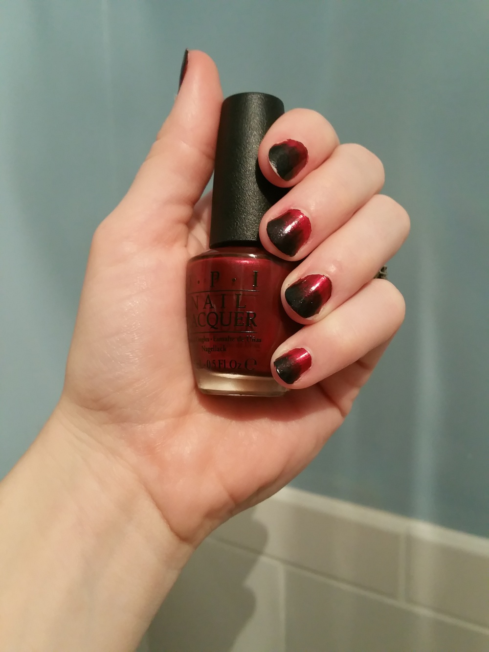 Cassandra Pentaghast themed nails - The Peachy Pixel