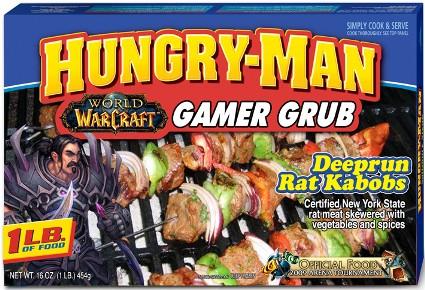 Hungry-Man Gamer Grub - The Peachy Pixel