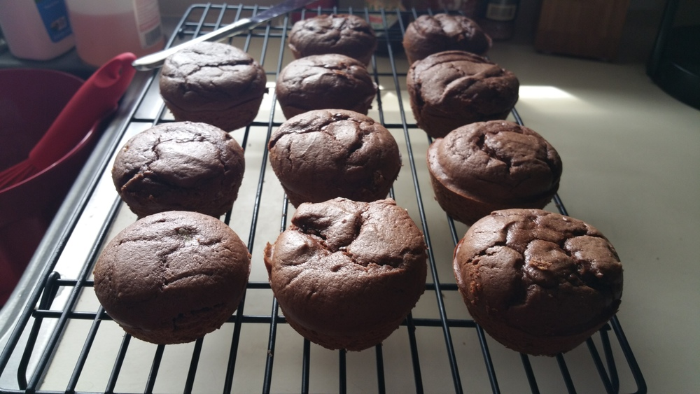 Chocolate Mud Cakes - The Peachy Pixel