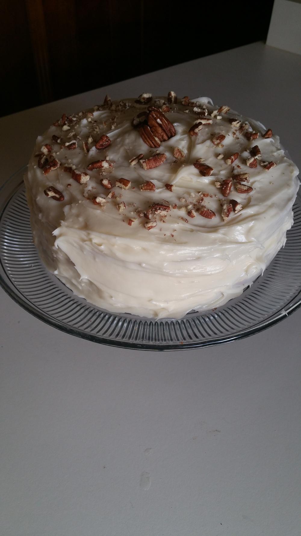 Butter Pecan Cake - The Peachy Pixel