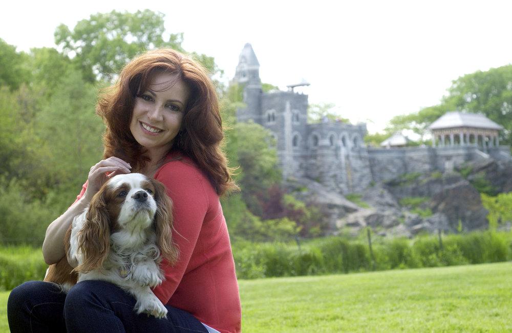 Leslie Carroll and her lovely dog!