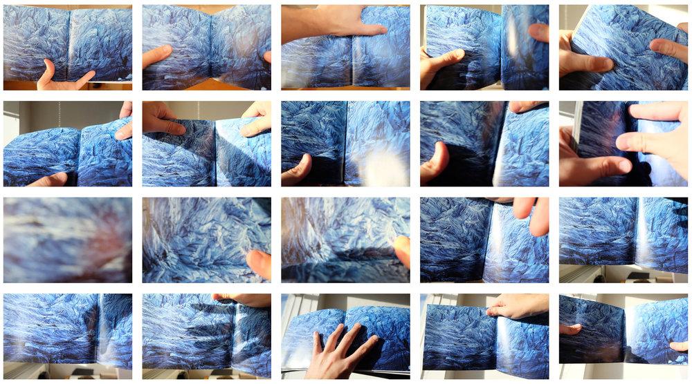 Me on Glacier, digital prints, size varies 2016