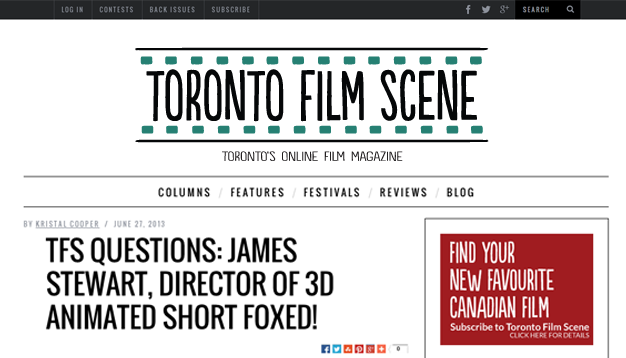 foxed! toronto film scene