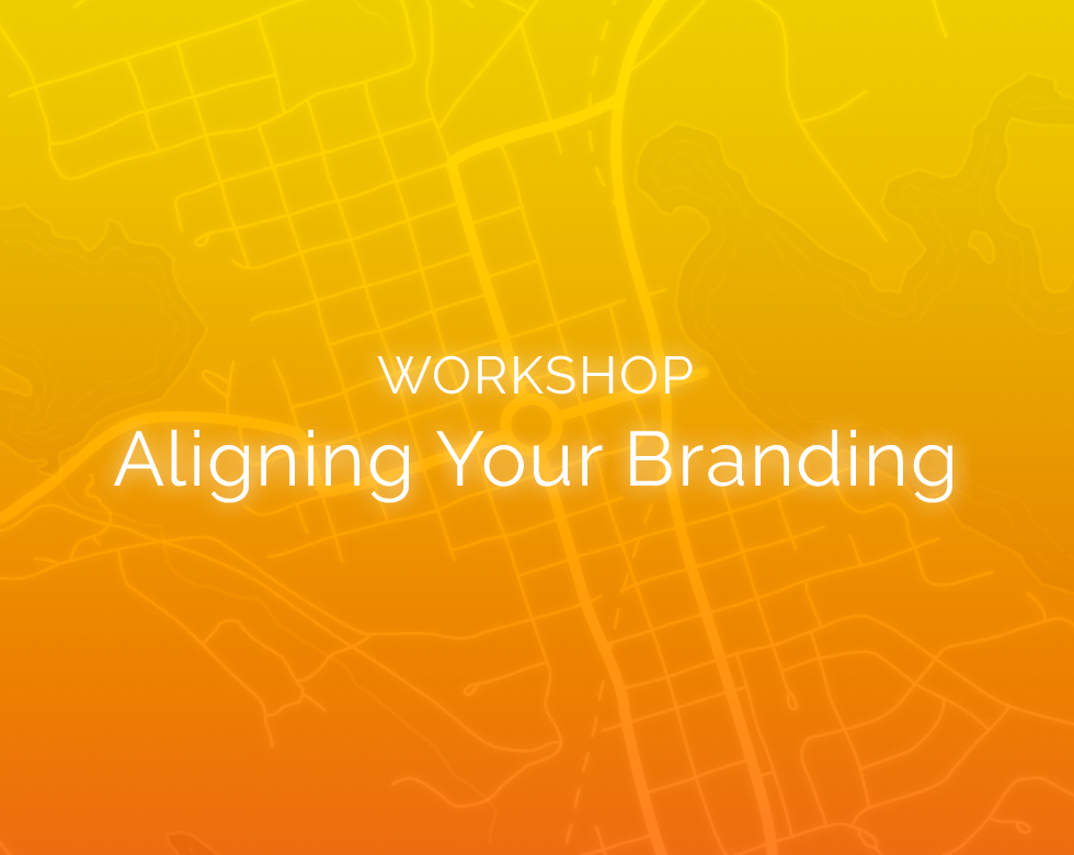 Workshop cover image: Aligning your branding