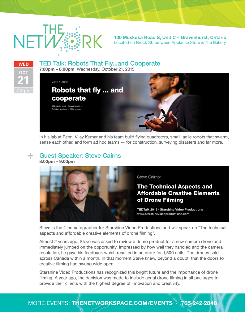 The NetWork special event October 21, 2015 at 7pm