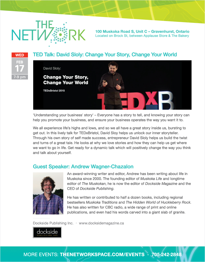 The NetWork special event February 17, 2016 at 7pm