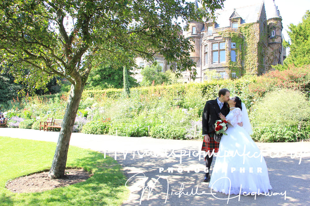 Wedding Photographer Edinburgh Zoo, Scotland