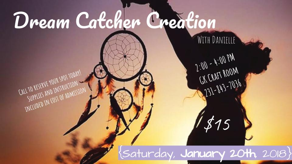 Golden Key Art Gallery - GK Dream Catcher Creation - Saturday January 20 2018.jpg