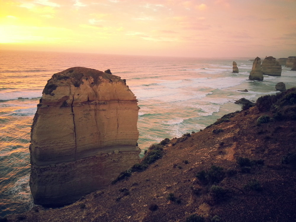 12 Apostles during sunset