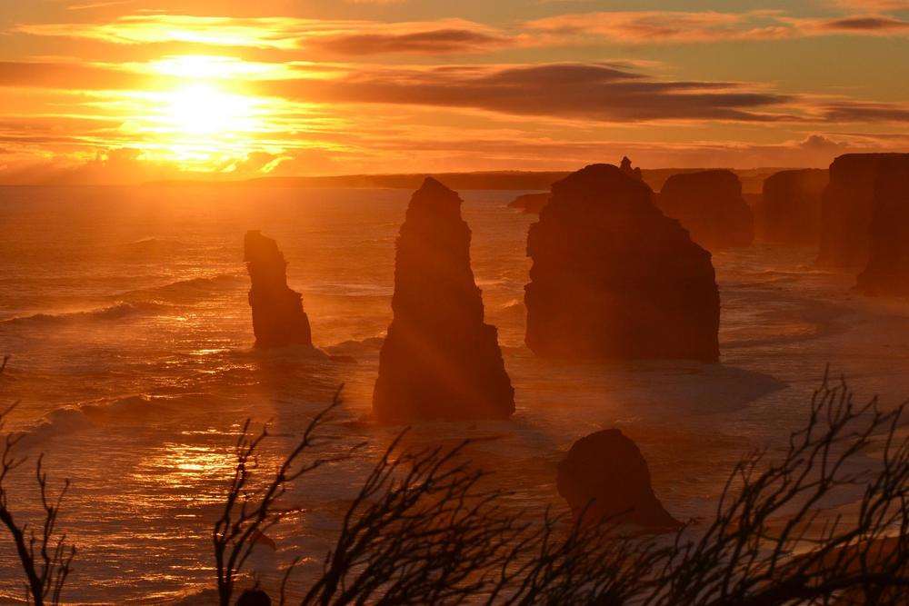 Copy of Sunset at the 12 Apostles