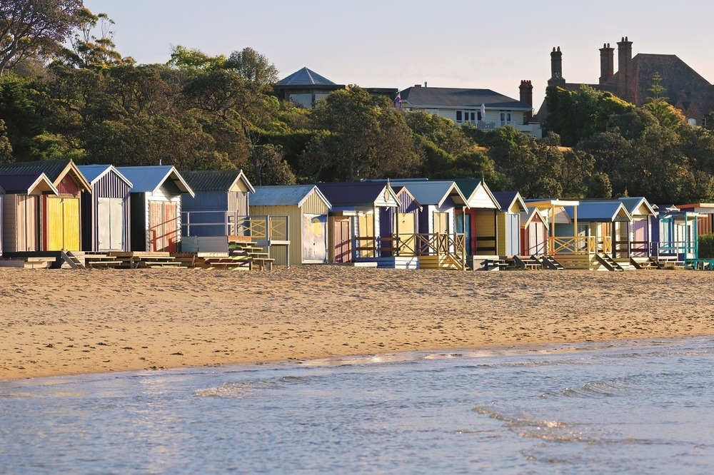 Mornington Peninsula beach huts