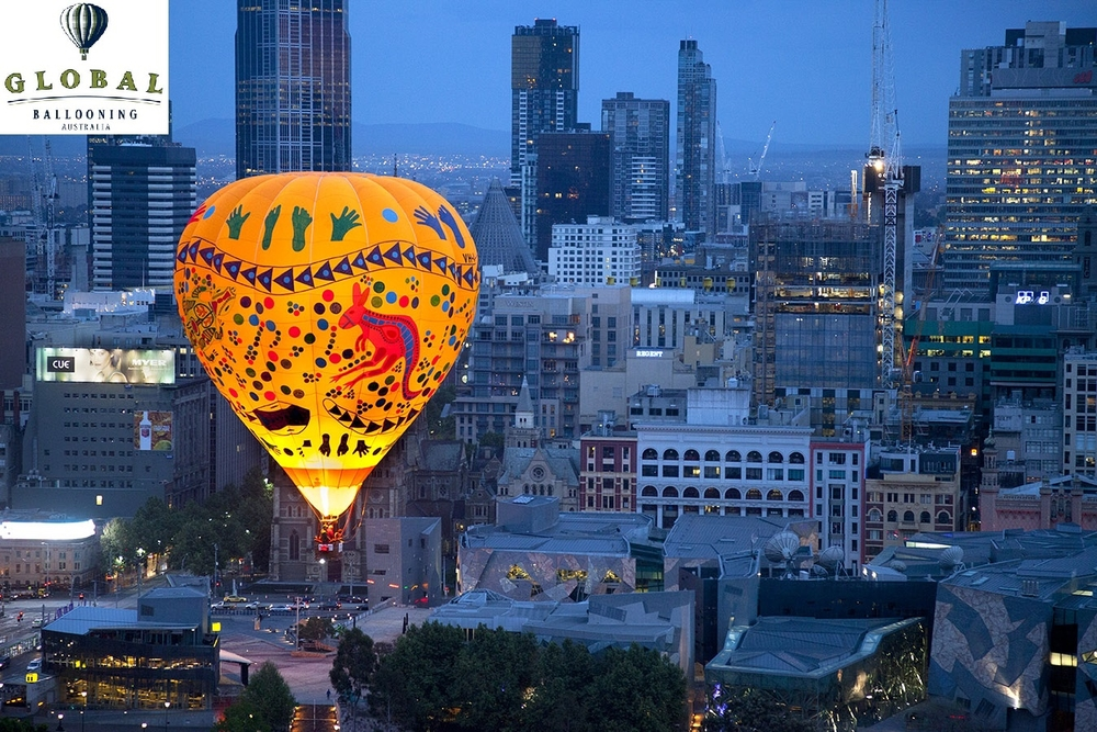 Hot Air Balloon Flight over Melbourne