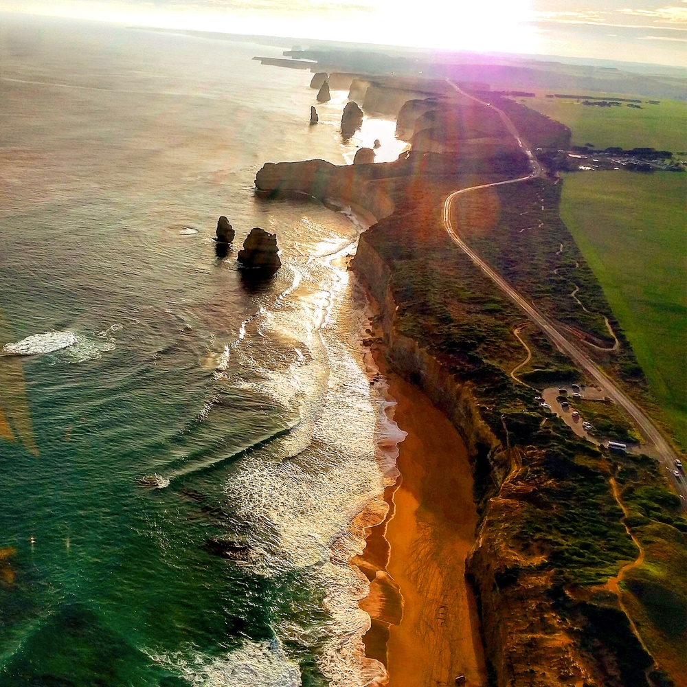 Copy of Aerial View of the Great Ocean Road