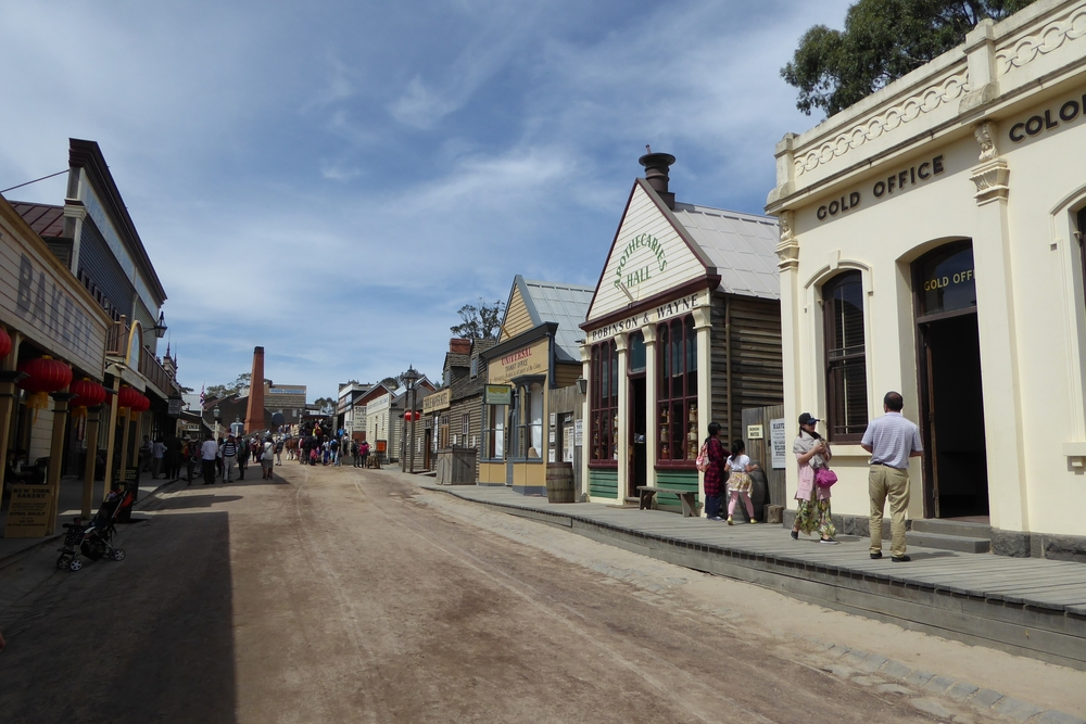 Sovereign Hill main Street