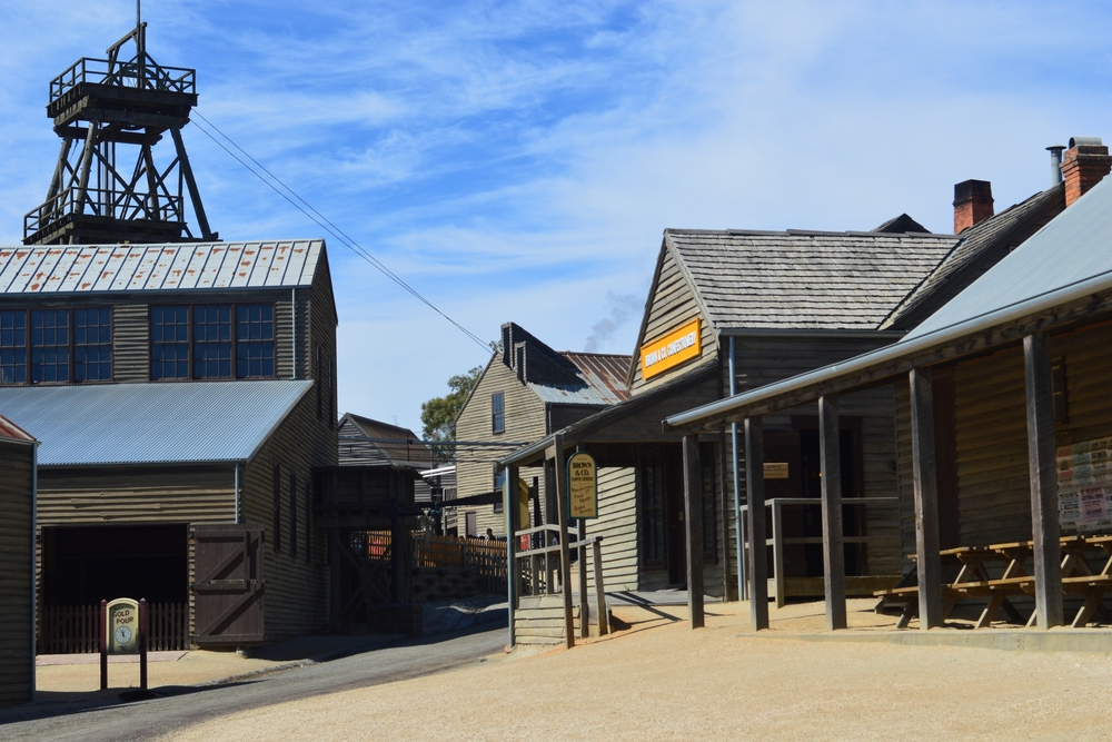 Sovereign Hill - Victoria's largest open air museum
