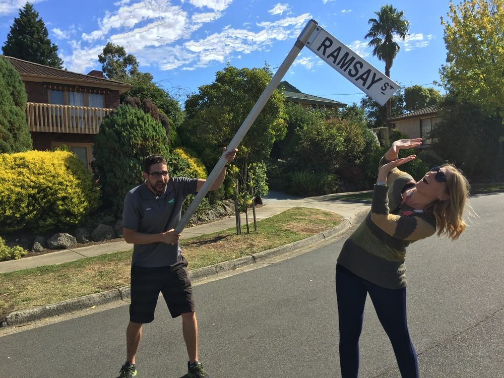 Neighbours Fans in Ramsay Street