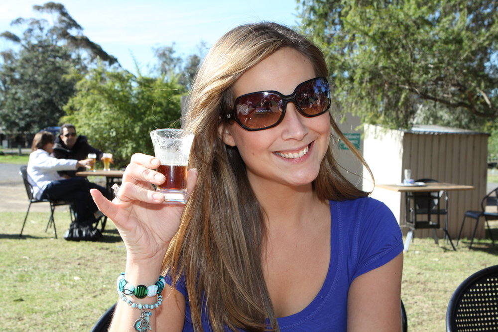 cheers to drinks in the hunter valley