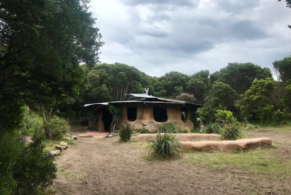 Aboriginal hut at Cape Otway.jpg