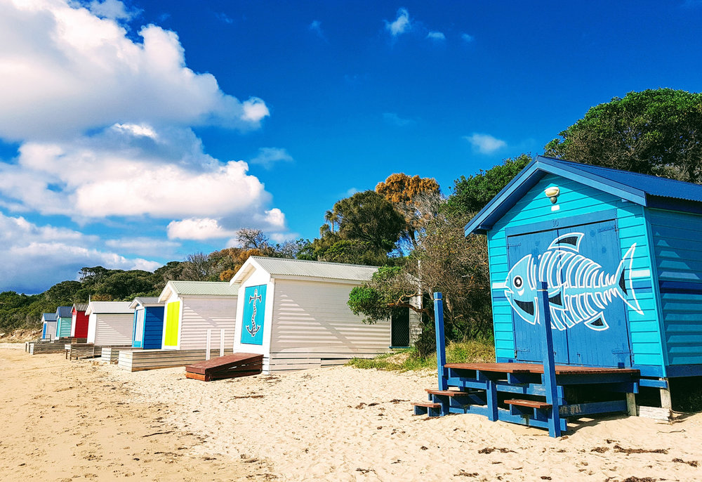 Bathing Boxes Mornington Peninsula