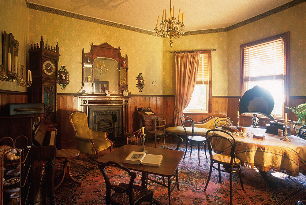 Inside the Samuel Amess house