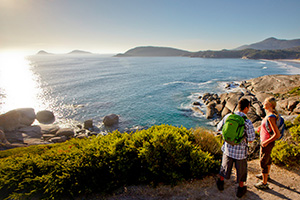 Wilsons Promontory Mountain Top Sunset Views