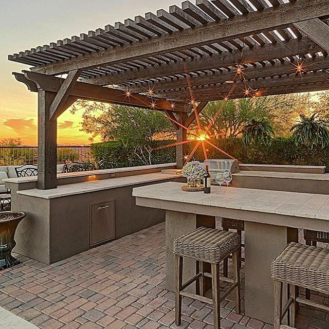 This beautiful outdoor kitchen we did was featured on HGTV.com. Check us out under outdoor kitchens! #rethinkinteriors