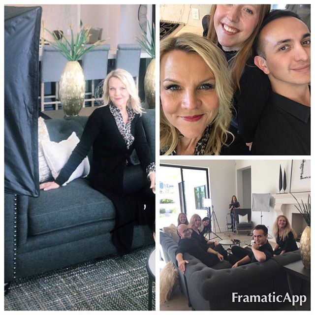 Funday Friday for the ReThink Interiors team. Photo shoot for our website.