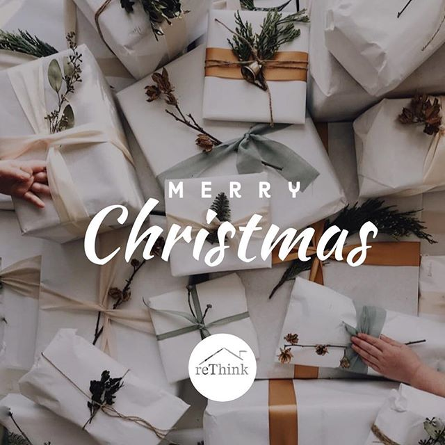 Wishing you a Merry Christmas and Happy Holidays, from all of us at reThink! #rethinkinteriors
