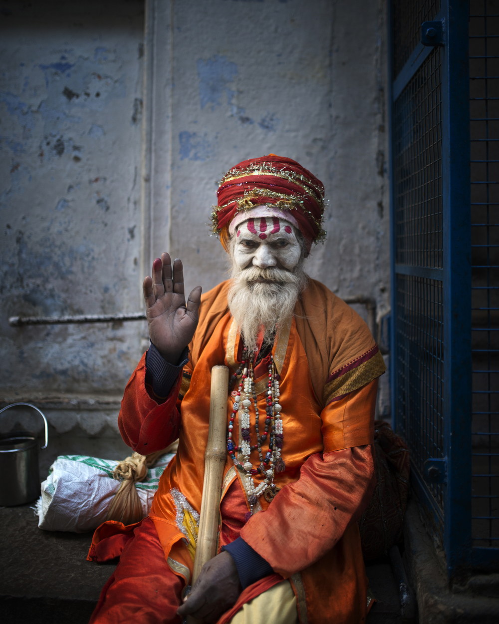 20151216 - Varanasi (Priest).jpg